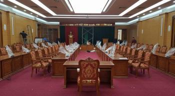 Bộ bàn ghế họp