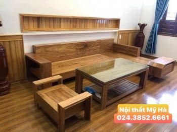 Bộ bàn ghế gỗ hương