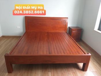Giường trơn 3 vai