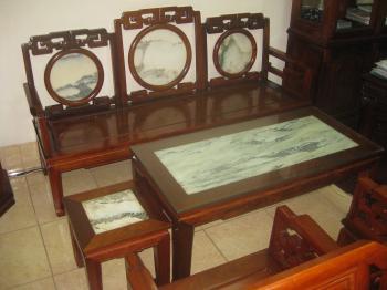 Bộ bàn ghế triện tàu