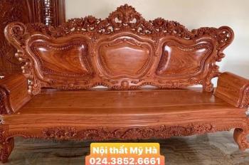 Bộ phòng khách gỗ hương 1